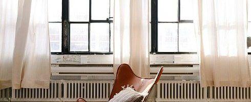 Cortinas Como Parte De Diseño De Interiores