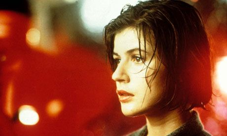 """Valentine (Irene Jacob): """"I feel something important is happening around me. And it scares me."""" -- from Three Colors: Red (1994) directed by Krzysztof Kieslowski"""