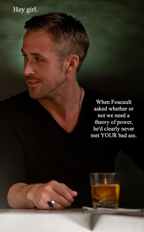 Feminist Ryan Gosling - what is NOT to love?