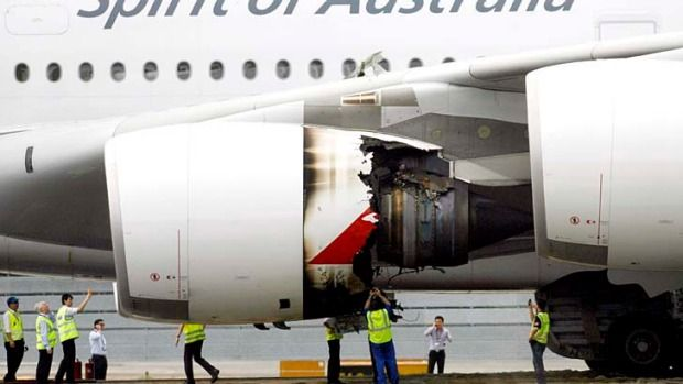 The captain of the Qantas A380 superjumbo that suffered an engine explosion mid-flight reveals exactly what happened in the cockpit.