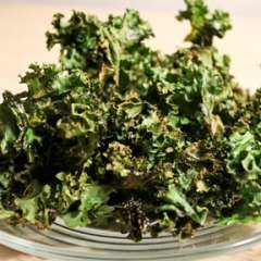 Kale chips - plus other Kale recipes