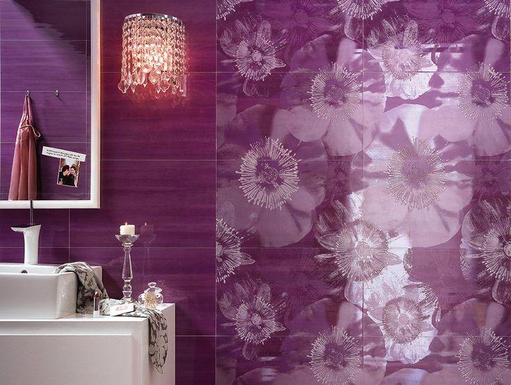 Purple decorating ideas for your home: Cielo Collection, Fap Ceramiche, 2011 @fapceramiche | #designbest #homedecor #design |