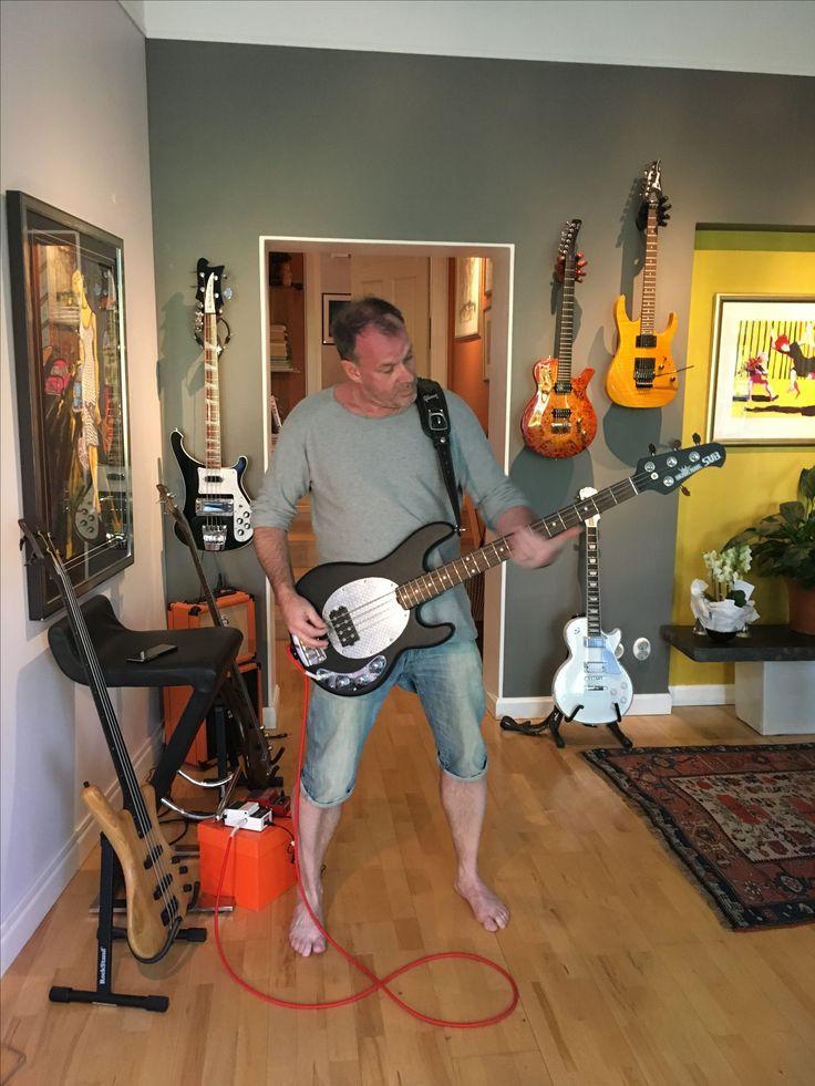 New Bass Day 😃 Ernie Ball Music Man S.U.B. Made in USA 2003 Bass