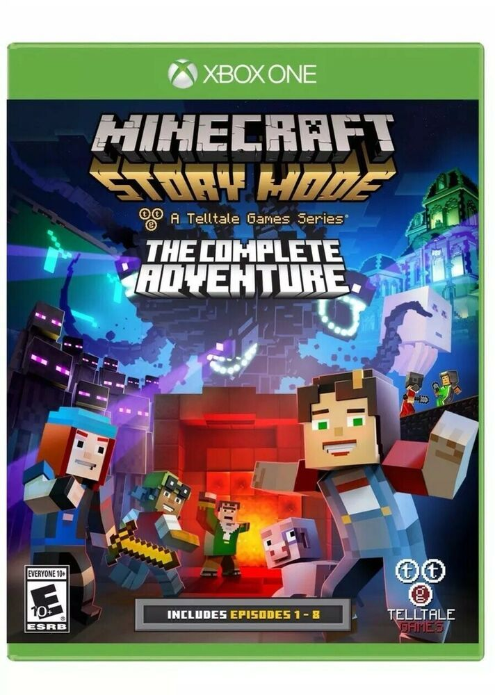 Minecraft Story Mode The Complete Adventure Xbox One Ebay