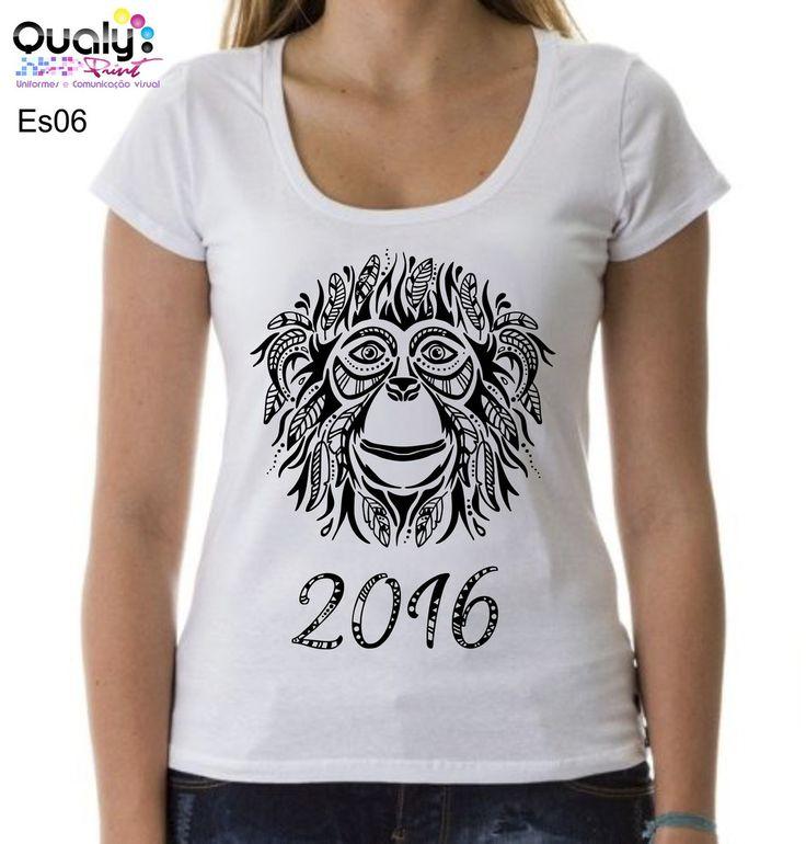 T-shirt Ano do Macaco