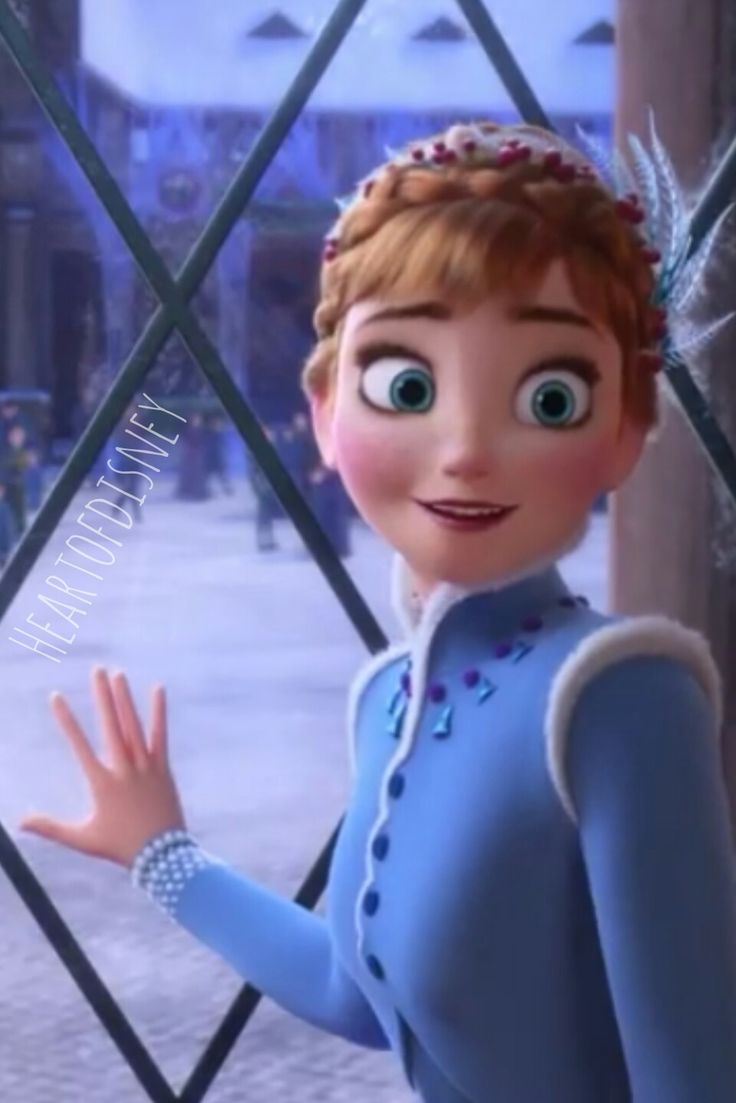 Anna from Olaf's Frozen Adventure
