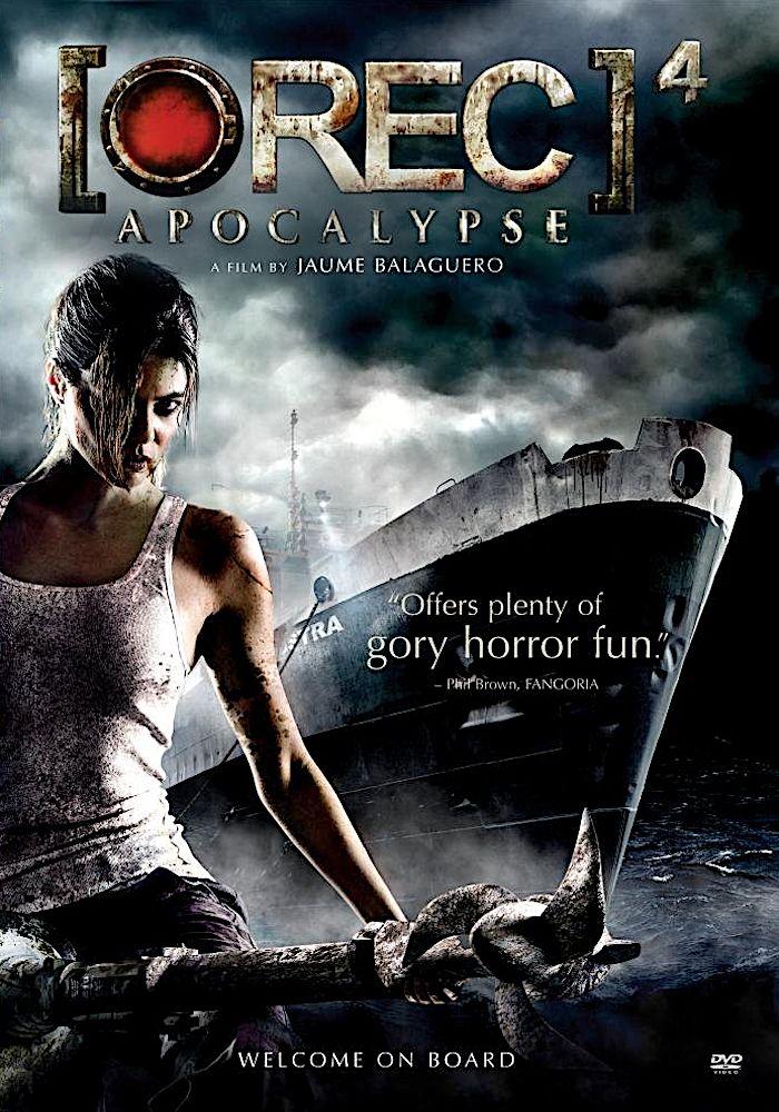 Rec 4 Apocalypse Dvd Spe Apocalypse Newest Horror Movies Zombie Movies