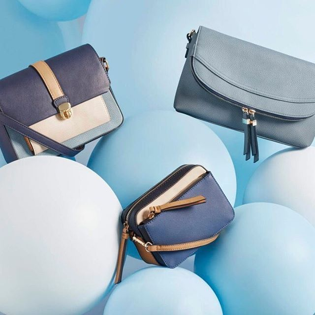 Clever, structured, fresh palettes; our bags just got snap happy. #Accessorize #camerabag