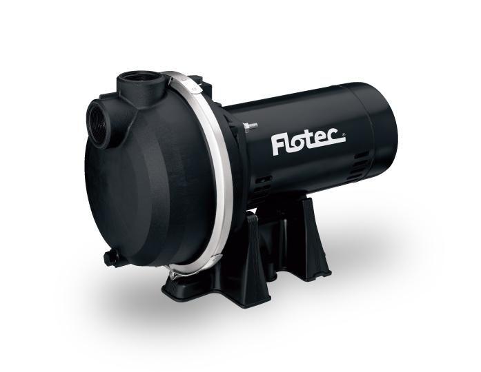 Flotec FP5172 Dual Voltage Composite Sprinkler Pump, 1-1/2 HP