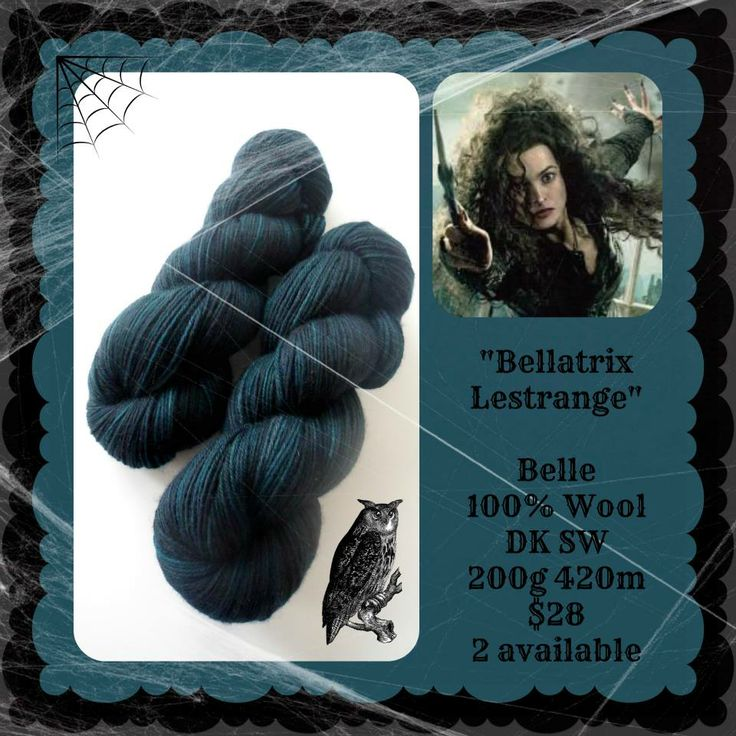 Bellatrix LeStrange - Which Witch? | Red Riding Hood Yarns