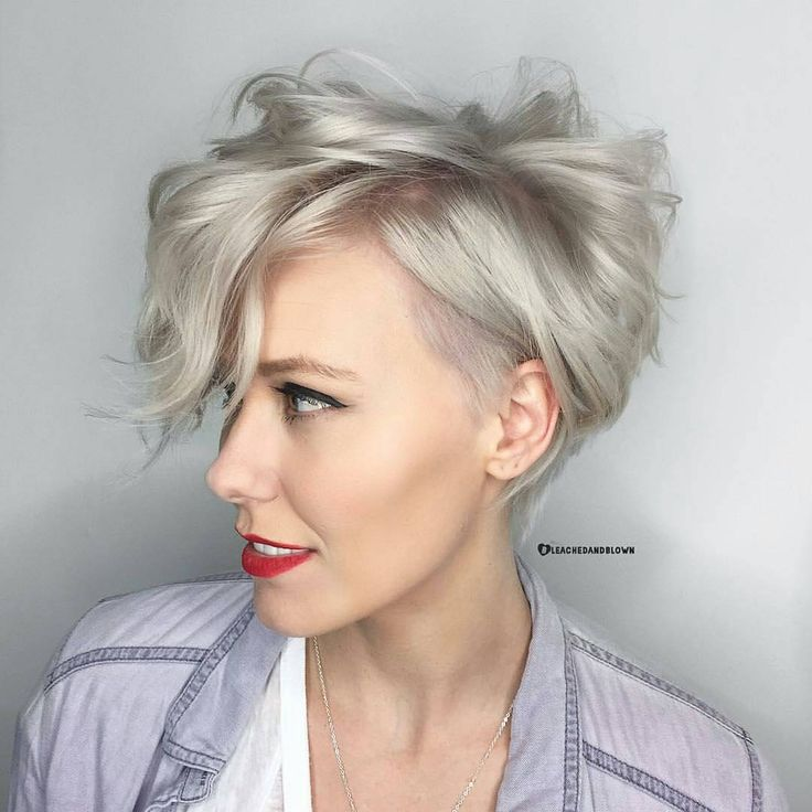 "176 Likes, 5 Comments - Pixie Hair ✂ Don't Care (@pixiepalooza) on Instagram: ""Super fly pixie by Jamie aka @bleachedandblown serial badass over at @parlour.eleven in Huntington…"""