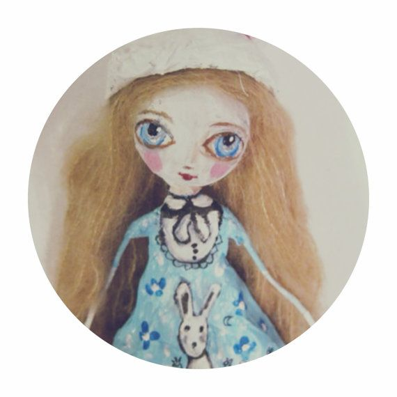 Poupée Alice par MlleCelesteArtdoll