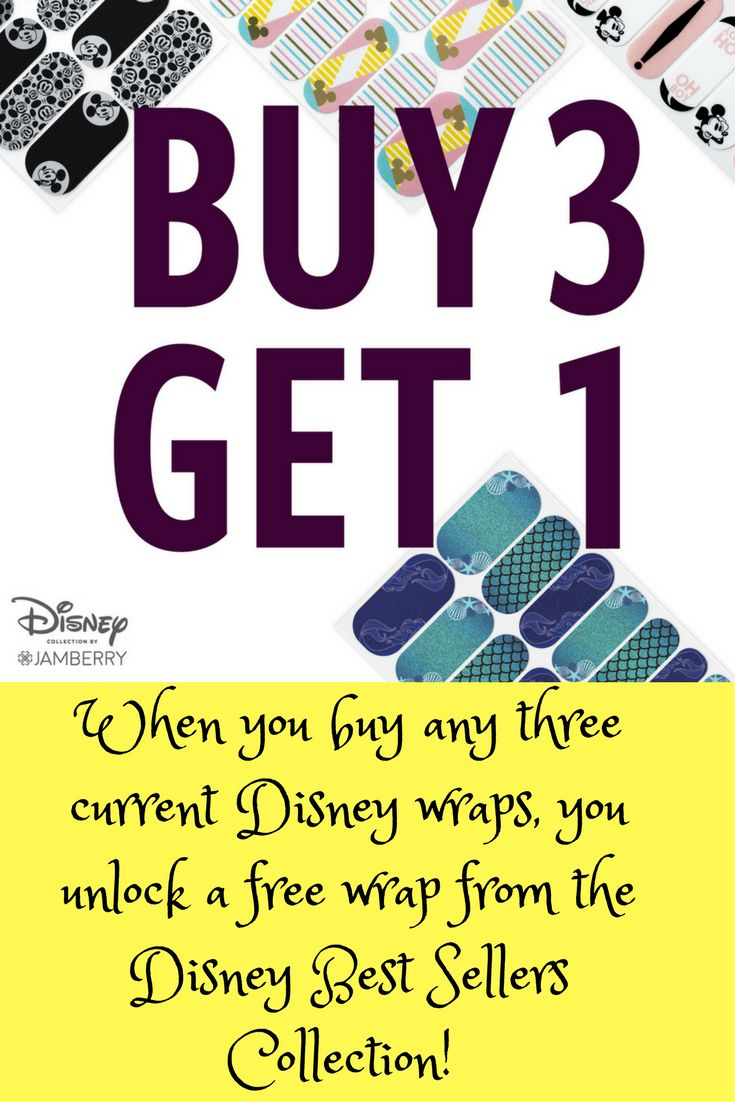 I love the current Disney wraps but am so excited to get to choose from the retired Jamberry Disney nail wraps! Can't wait to mix and match them!