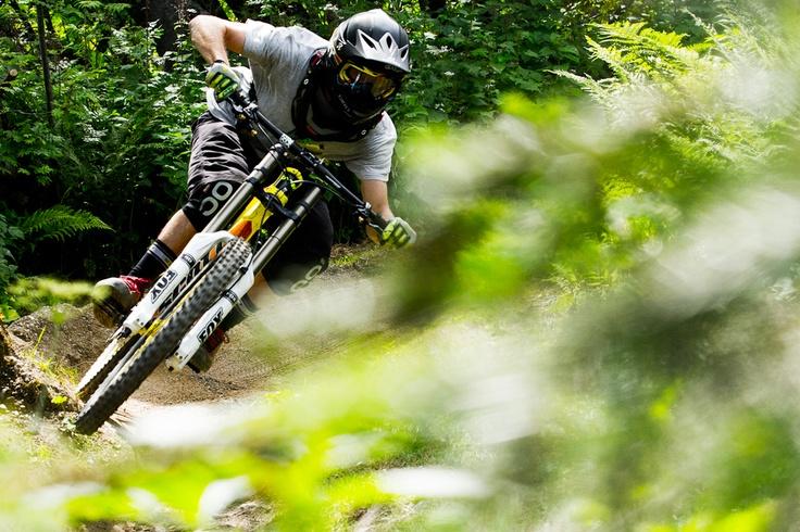 Arnaud Kugener in the Chatel Bike Park