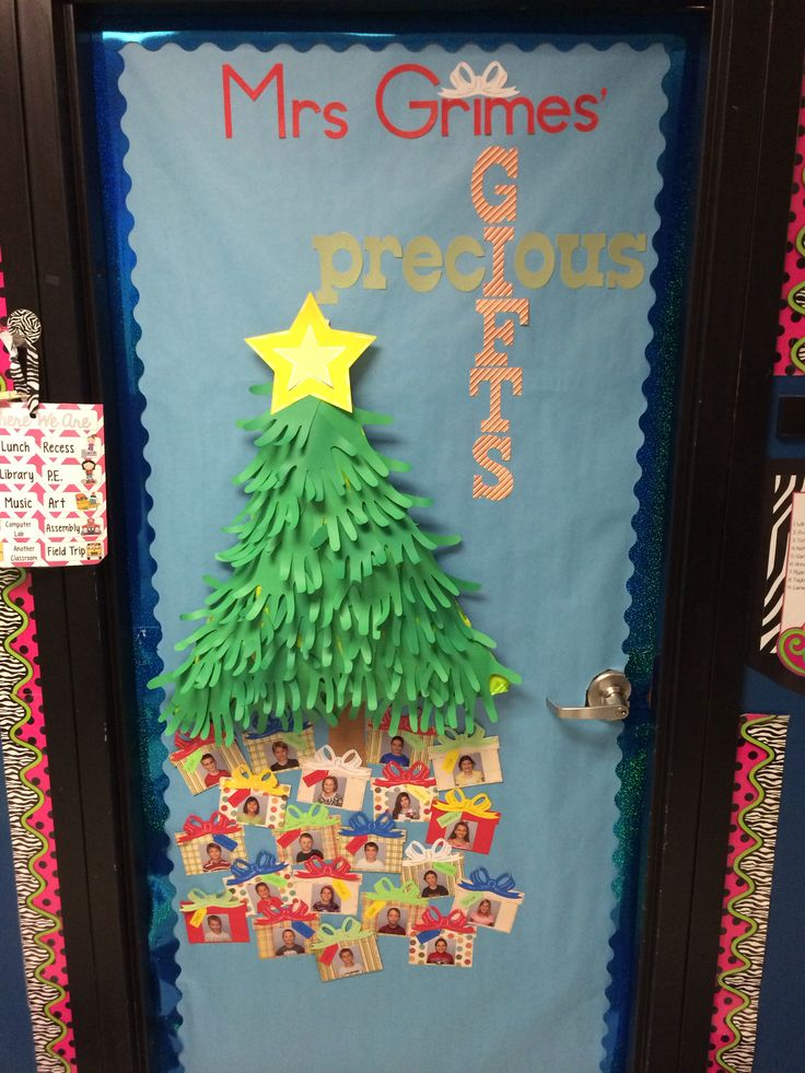 Preschool Classroom Decoration For Christmas : Christmas door for nd grade classroom ideas
