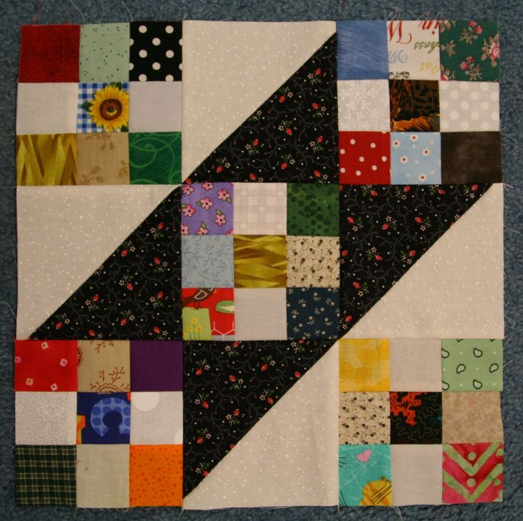 Tumalo Trail quilt block