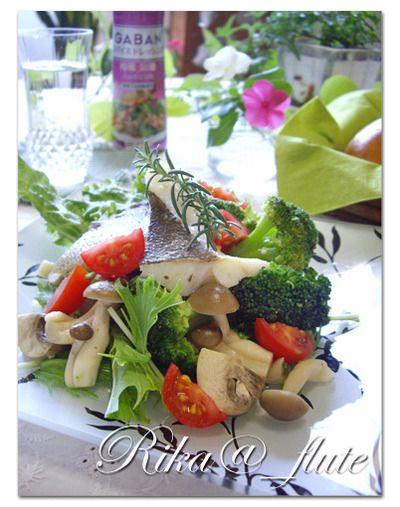 タラのローズマリー蒸し温野菜サラダ ルクエで簡単温野菜 by りかりん ...