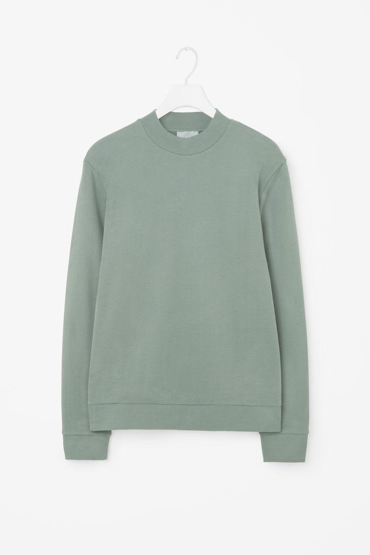COS | Rib detail sweatshirt