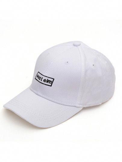 8b8a101bde Men Embroidered Detail Baseball Cap -SheIn(Sheinside) #baseballcaps ...