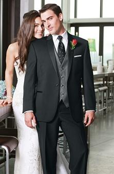 Jos. A. Bank : Style No. 901 Genesis Tuxedo : Groom Style Gallery : Brides