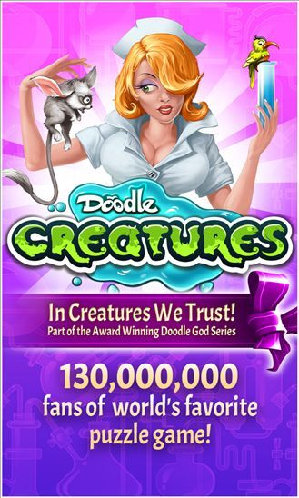Doodle Creatures arrives for Windows Phone