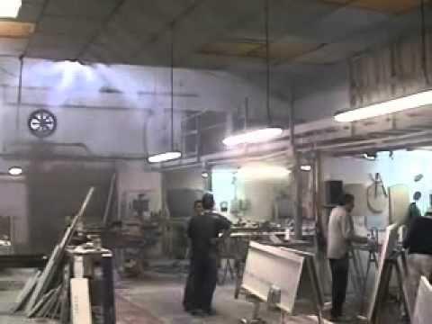 Ventiladores de pulverización de agua - YouTube