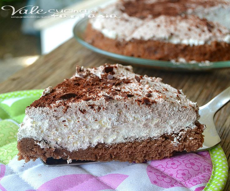 Torta fredda al nesquik ricetta senza colla di pesce, facile golosa e cremosa,e senza colla di pesce una torta con pan di spagna al nesquik per merenda