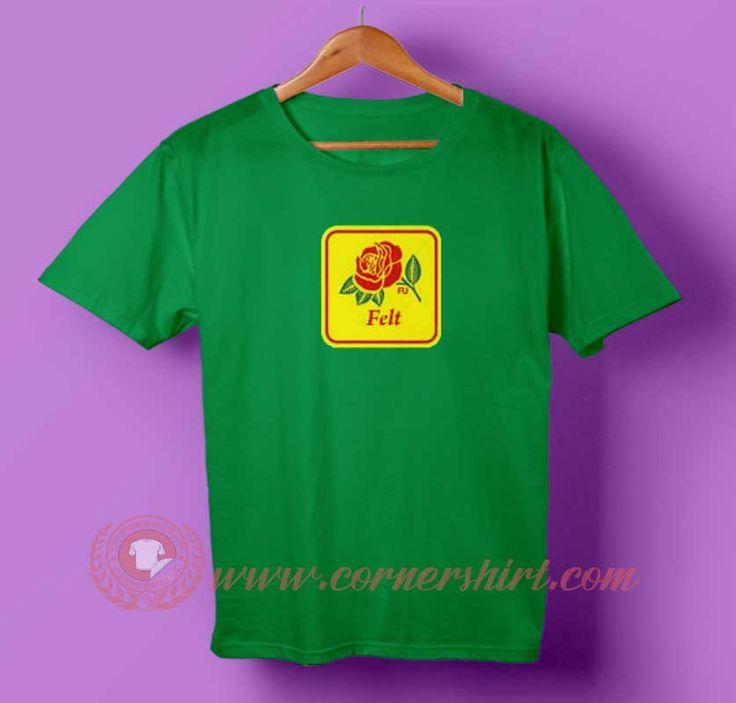 Felt Rose T-shirt #tshirt #tee #tees #shirt #apparel #clothing #clothes #customdesign #customtshirt #graphictee #tumbrl #cornershirt #bestseller #bestproduct #newarrival #unisex #mantshirt #mentshirt #womanTshirt #text #word #white #whitetshirt #menfashion #menstyle #style #womenstyle #tshirtonlineshop #personalizetshirt #personalize #quote #quotetshirt #wear #tshirtonlineshop #outfit #womenfashion