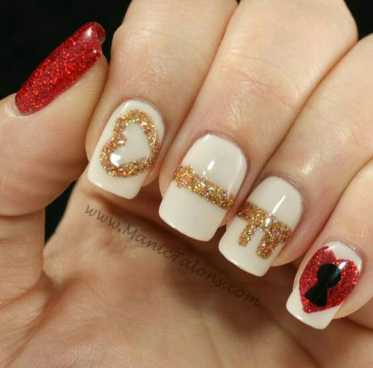 look at this post of 50 valentines day nail art designs ideas trends of - Valentine Design Nails