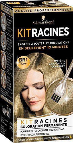 Schwarzkopf Soyance Coloration Permanente Kit Racines Blond 22 ml: Coloration permanente pour cheveux Pour retoucher les racines entre deux…