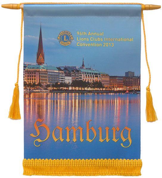 Hamburg 2013 Lions Convention Banner - $12.00 https://www2.lionsclubs.org/p-990-hamburg-2013-conv-banner.aspx
