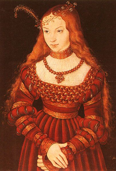 Sybille of Cleves, older sister of Anne of Cleves