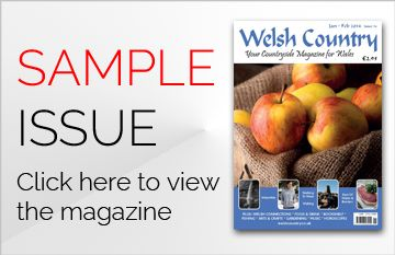 Welsh Country Magazine: Welsh Food, Arts & Crafts, Places to Stay