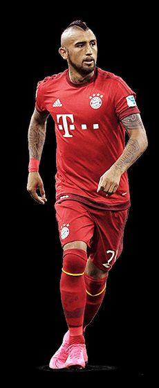 Arturo Vidal Bayern Munchen View your team - Team of the Year - UEFA.com