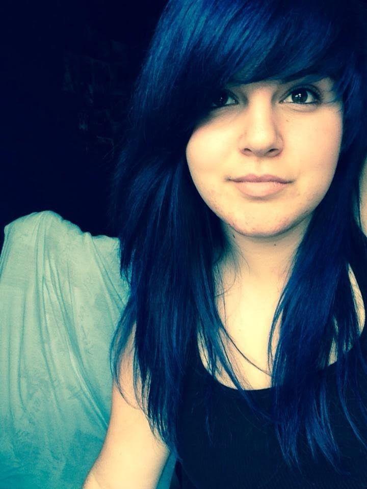 teinture pour les cheveux noir cheveux bleu fonc couleurs de cheveux noirs les couleurs de cheveux panique maniaco bleu choquant mes cheveux - Color Out Cheveux Noir