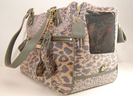 diaper bag or dog purse... i'd use it as a diaper bag :]].