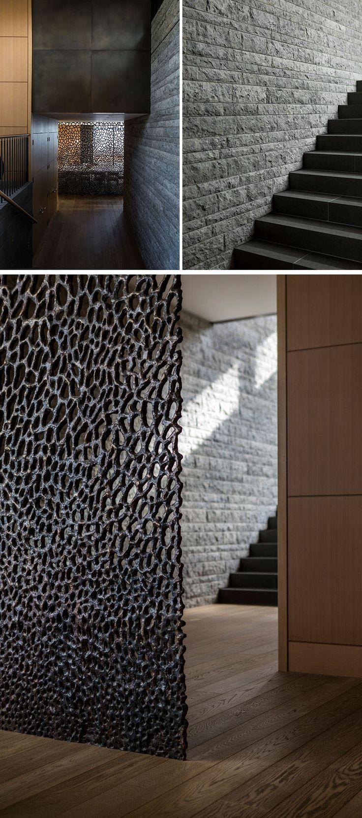 dallage-pierre-grise- cage-escalier-paravent-décoratif