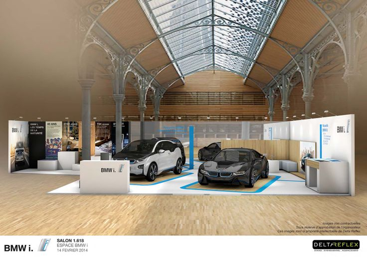 -PROJET - BMW au Salon 1.618 Sustainable Luxury Paris -Avril 2014 en collaboration avec la soc Delta Reflex