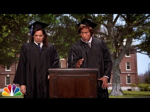 Jimmy Fallon and Dwayne Johnson's Commencement Speech in 1989 Is the Worst Graduation Speech Ever?Watch! | E! Online Mobile