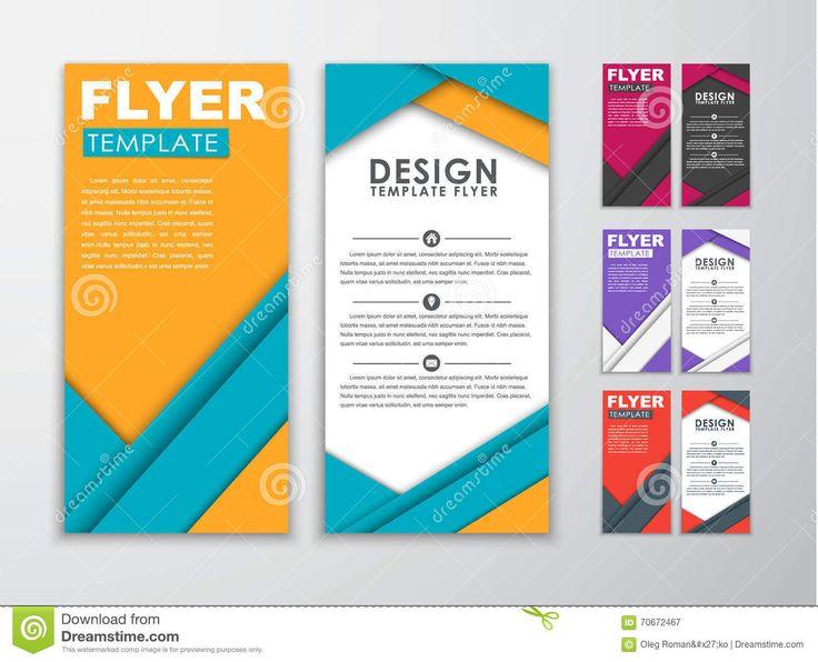 Voorbeeld van Material design bij een flyer. Het lettertype is dik en bold, schaudw zorgt weer voor die diepte