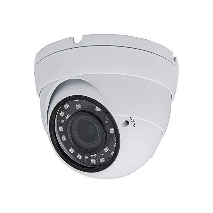 1080P Security Camera 2.8mm Fixed Lens Dome 4 in 1 HD TVI CVI AHD Analog Indoor