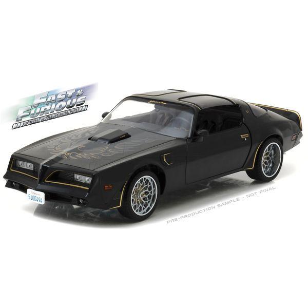 Fast and Furious -1978 Pontiac Trans Am. 1:18 Scale Movie Car