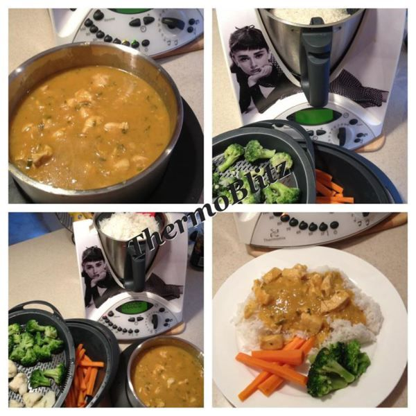Apricot chicken in the Thermomix by Thermoblitz