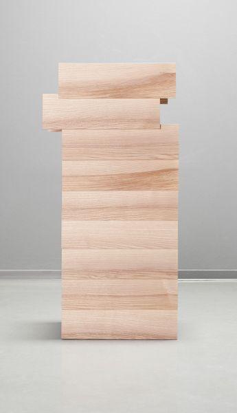 blonde wood.