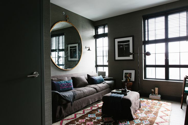 """Interior Designer Digs! Inside Athena Calderone's Immaculate BK Pad #refinery29  http://www.refinery29.com/46159#slide20  How does your fashion style intersect with your home style? """"I can often be all over the place in how I dress. Quite schizophrenic actually. One day I might feel more elegant and sophisticated in a long flowy dress or tailored trousers and a blouse, and the next I'll want to look edgier in a short dress or a cropped top and ripped jeans. Pairing a beautiful girly dress…"""