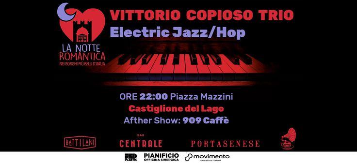 """RT @TrasimenoLake: Sabato in Piazza Mazzini a Castiglione del Lago """"Vittorio Copioso Trio"""" non mancare! Afther show al 909 Caffè https://t.co/Hru5dHqA7d"""