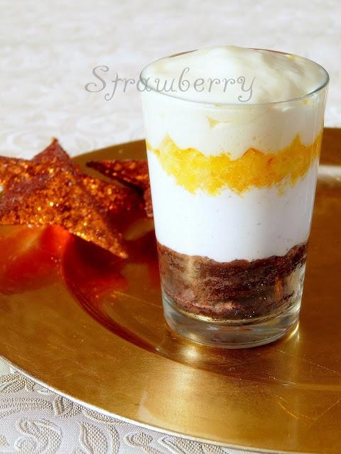 Karácsonyi narancsos pohárkrém