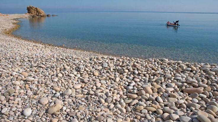 La spiaggia di Castel di Tusa - The beach at Castel di Tusa