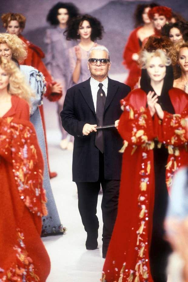 Mort De Karl Lagerfeld L Evolution Physique Du Couturier Karl Lagerfeld Mode Haute Couture