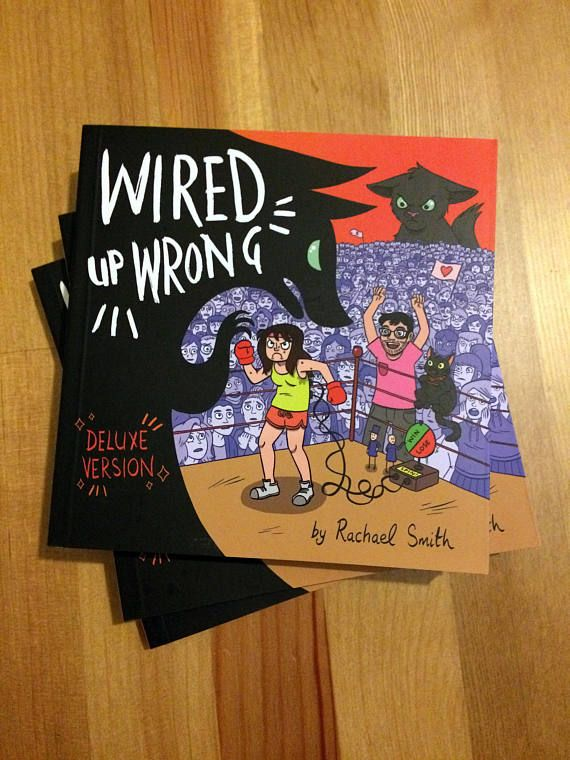 This is a beautiful, funny, revealing comic about living with depression from the always wonderful Rachael Smith. - Chris Addison, actor/director/writer  Wired up Wrong is a collection of auto-bio comic strips that comic-creator Rachael Smith made in an effort to better understand her